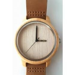 Medinis laikrodis su pasirinktu užrašu